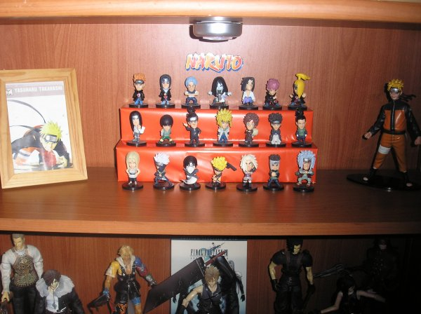 Ma petite collection de Naruto