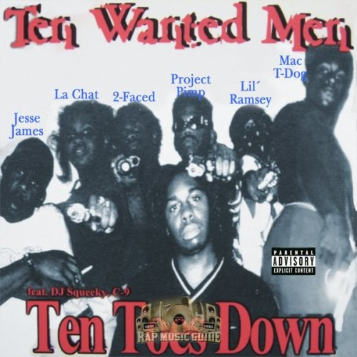 Ten Wanted Men - Ten Toes Down