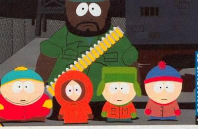 Top South Park un dessin animé que j'adore - Fist Of The Blue Star DD09