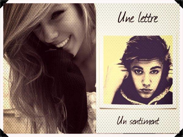 OS - Une lettre, un sentiment.