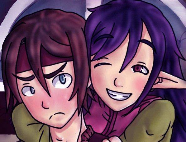 Les dessins d'une fan de mangas et de jeux videos