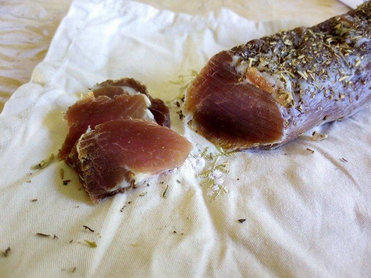 Filet mignon séché (style saucisson)