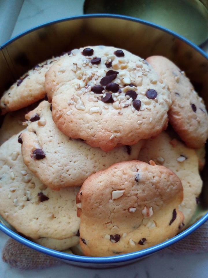 Cookies choco/cacahuette :)
