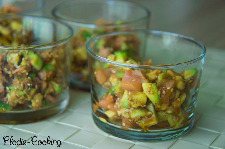 Salade Jap's (sauce AYAM)
