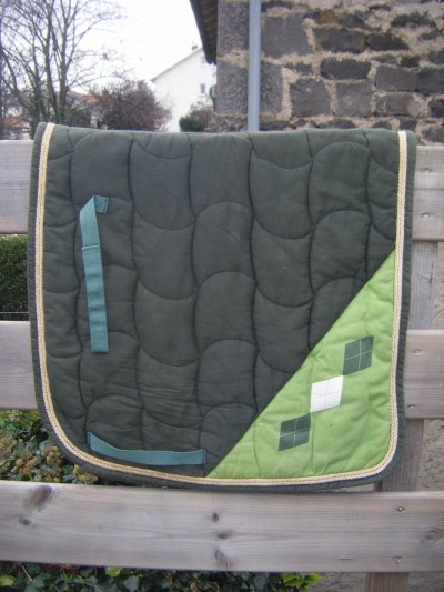 - Tapis vert de forme dressage -