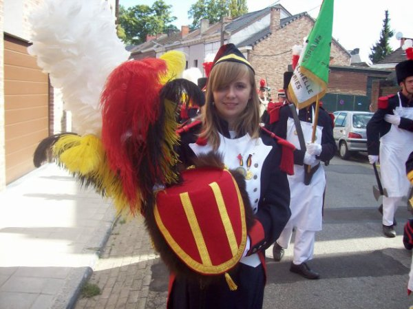 je ne suis pas sortie à la marche folklorique saint louis
