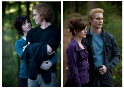 Les couples Cullen/Swan