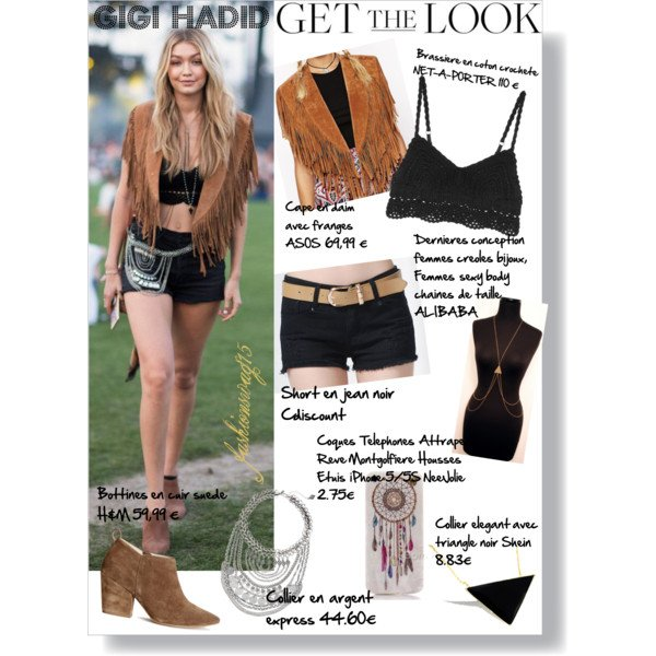 GET THE LOOK OF GIGI HADID