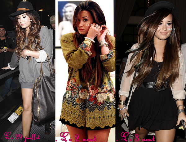 .Les sorties de Demi sont de plus en plus fréquentes ! Alors, content(e) ? .