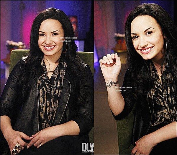 ..Le 12 avril 2011: Demi à visité Good Morning America dans le studio de ABC à New York. ..TOP  ou FLOP ?.