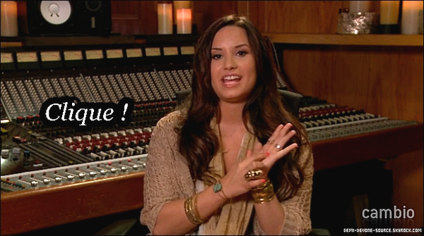.Demi Lovato • Live chat.