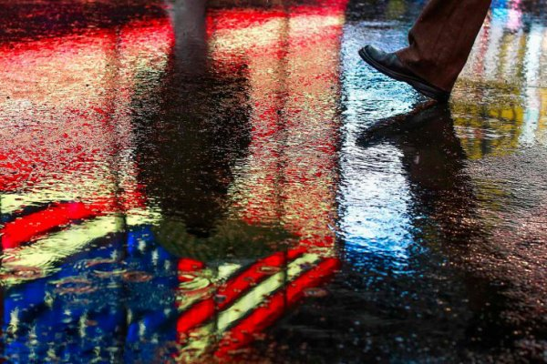 Rain water And light