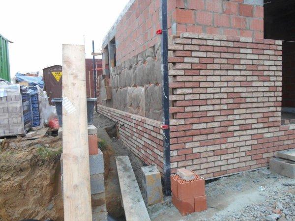 28 octobre 2014 pose de l 39 isolation brique suite blog de teamcons - Isolation mur brique ...