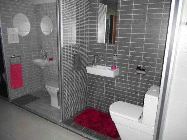 30 mars 2015 choix carrelage salle de bain et wc blog - Carrelage sol wc ...