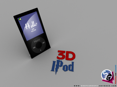 IPod 3D BY SG : 2012