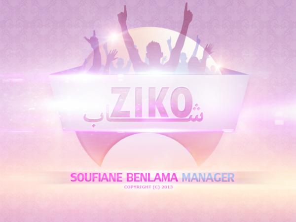 Cheb Ziko - LOGO / Soufiane Benlama Manger