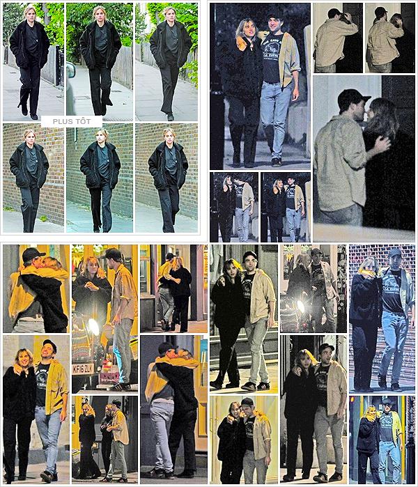 ''28/07/2018'' ─ Suki & Robert Pattinson  ont étés vus quittant un cinéma après avoir vus «Mamma Mia 2 !»  à Notting Hill.Photos de mauvaise qualité malheureusement. Je ne sais pas quoi dire, tellement ce nouveau couple ? parait inattendue ! Simple flirt ou relation ?
