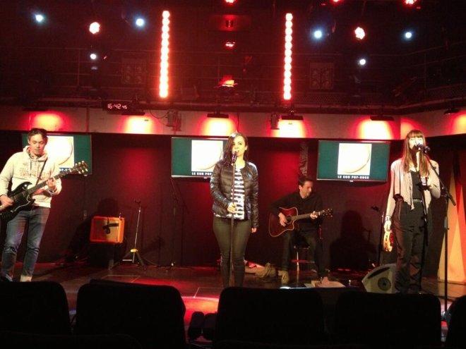 Alizée Au Grand Studio de RTL