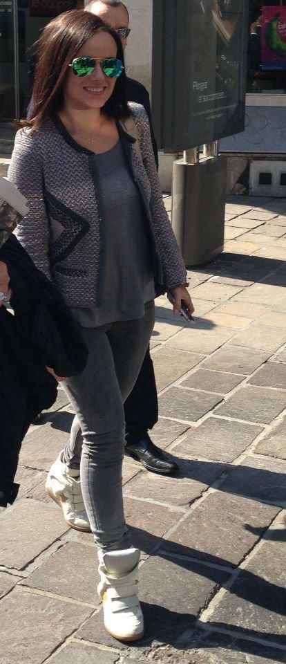 Alizée Son Arrivée à Grenoble
