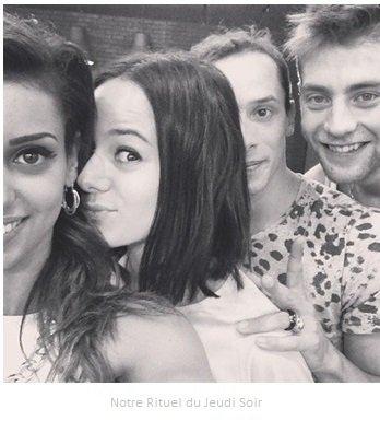 Alizée Via Instagram & Twitter