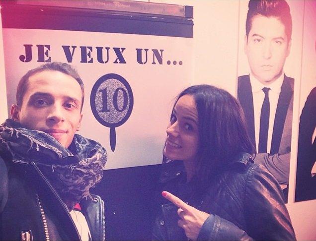 Alizée Via Instagram & Répétitions