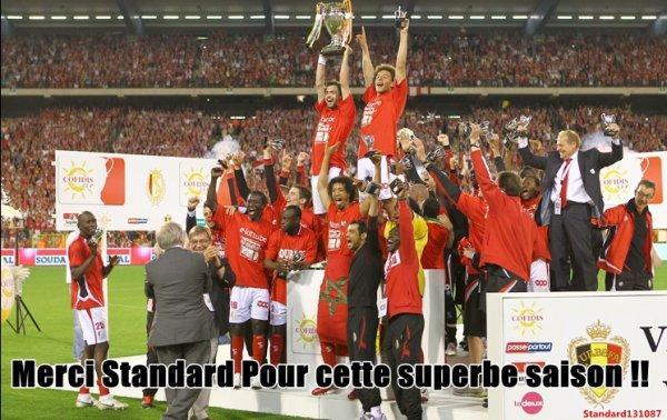 Standard gagne la coupe de Belgique 2010-2011