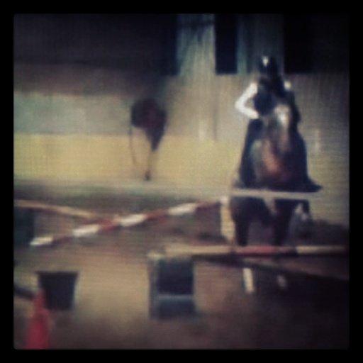 Récital et moi , séance de saut