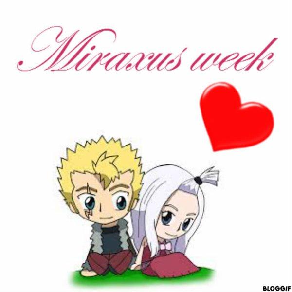Sommaire de la Miraxus Week