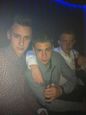 B-Club : Antoine , Steve et Moi