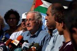 Noam chomsky, impressions de Gaza