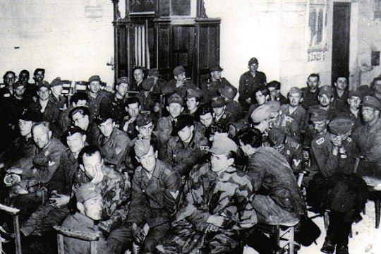 Les prisonniers de guerre allemands dans la France de l'immédiat après-guerre.