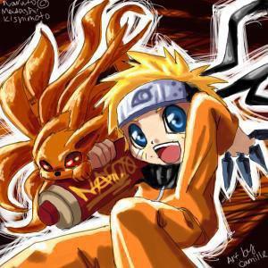 Naruto et kyubi ^^