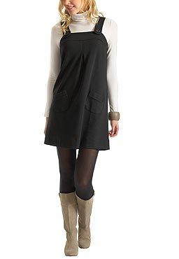 Robe noire et sous pull