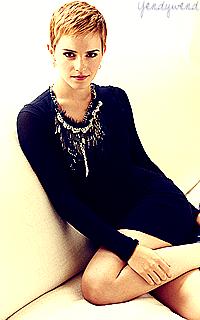 Pour la 1er fois Emma Watson