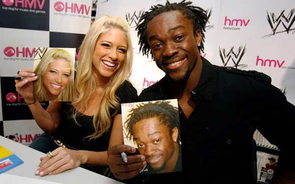 KellyKelly et les Superstars de la WWE