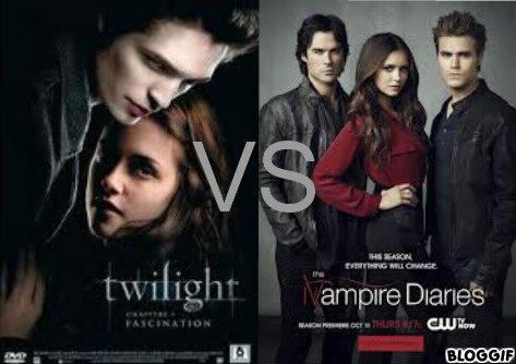 Twilight vs Vampire Diaries.
