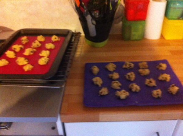 Cookies miel chocolat blanc pépites Choco