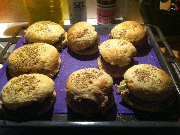 Ce soir c hamburgers maison