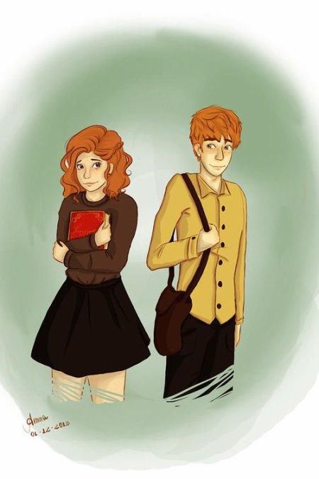Désolé Arthur Weasley x Molly Weasley