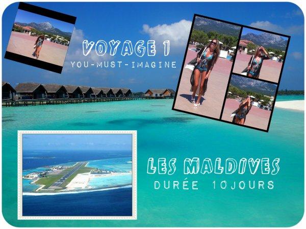 Commençons par les Maldives