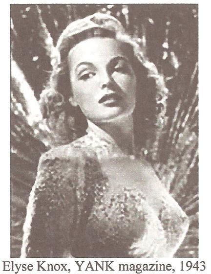 Elyse Knox, Yank