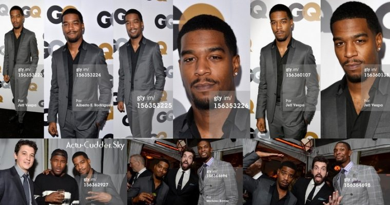 Kid Cudi collabore avec Rihanna et Big Boi, GQ Men Of The Year Party