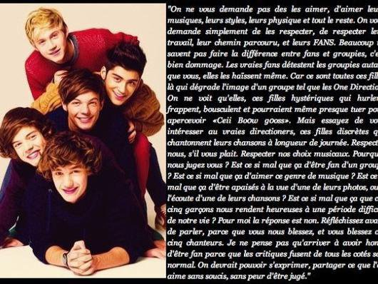 les one direction !!!!
