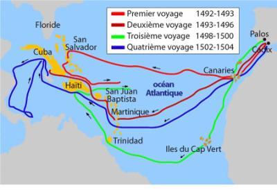 Les découvertes de Christophe Colomb - Mephisto-1061