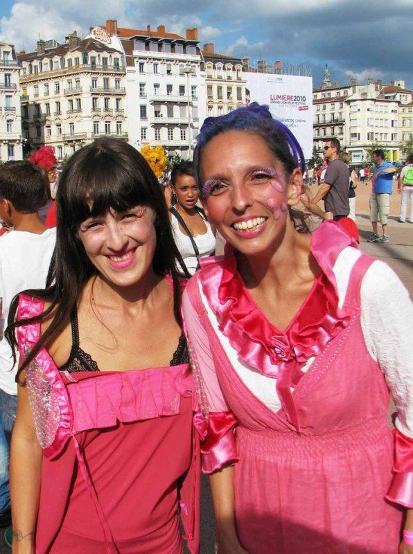 Carla Frison au Défilé de la Biennale de la Danse