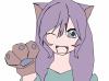 shisu fille chat