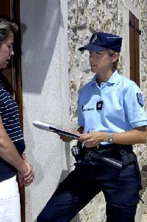 """Questionnaire """"connaissez-vous la gendarmerie ?"""""""