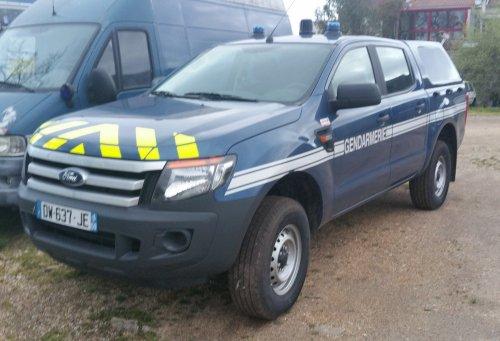 s rie v hicules de service ford ranger gendarmerie44. Black Bedroom Furniture Sets. Home Design Ideas