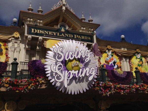 Les saisons à Disneyland Paris...
