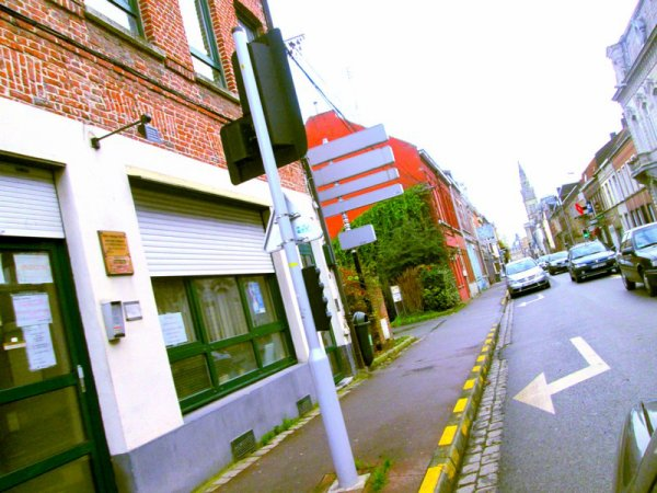Tourcoing (ville du nord) de la FRANCE.